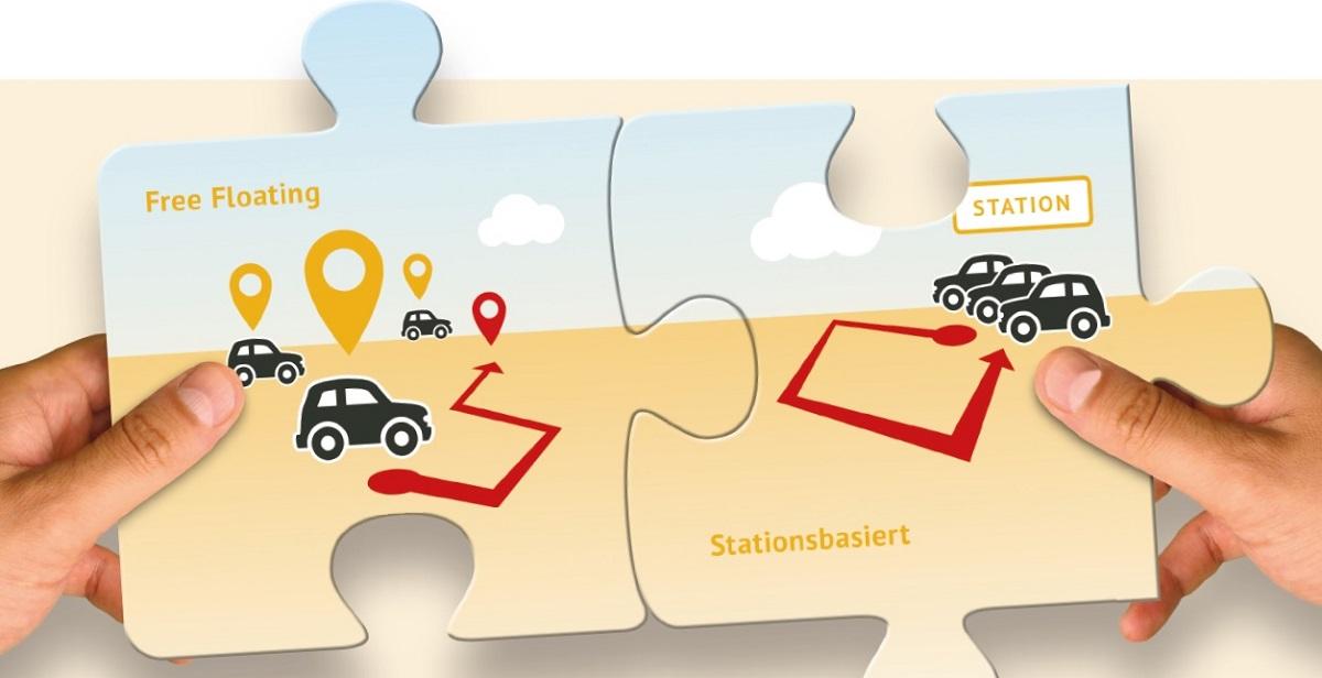 Kombiniertes CarSharing kombiniert die Vorteile beider Varianten (Bild: bcs)