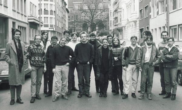 ecs Vorgründungstreffen in Aachen, 1991